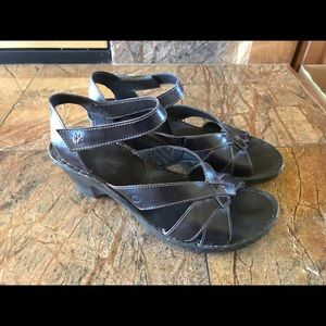 Josef Siebel brown sandals